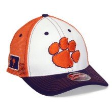 Clemson Tigers NCAA Zephyr Side Patch Trucker Meshback Cap | Adjustable