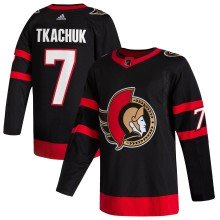 Brady Tkachuk Ottawa Senators adidas NHL Authentic Pro Home Jersey - Pro Stitched